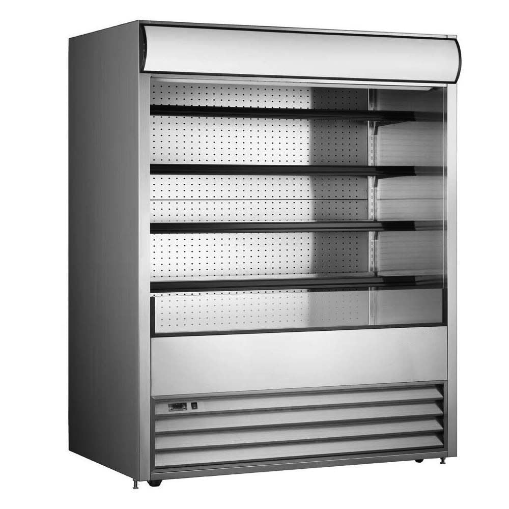 "Commercial Open Refrigerated Merchandiser Grab and Go Display Case 72"" - AT Faucet"