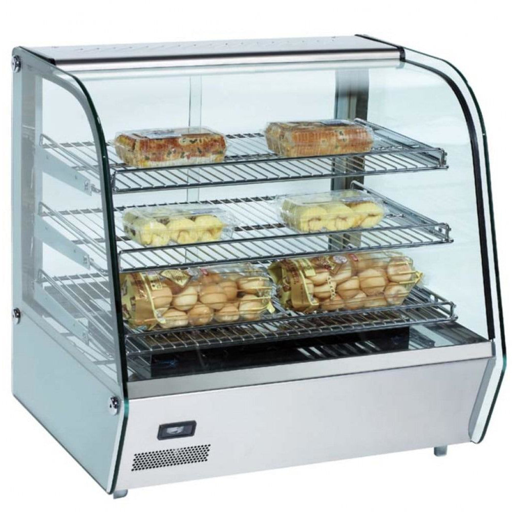 "Commercial Countertop Heated Display Case 27"" - AT Faucet Bar & Restaurant Equipment New Jersey"