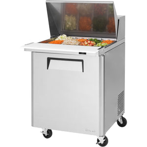"Turbo Air Commercial Refrigerated Mega Top Sandwich / Salad Unit 28"" - AT Faucet"