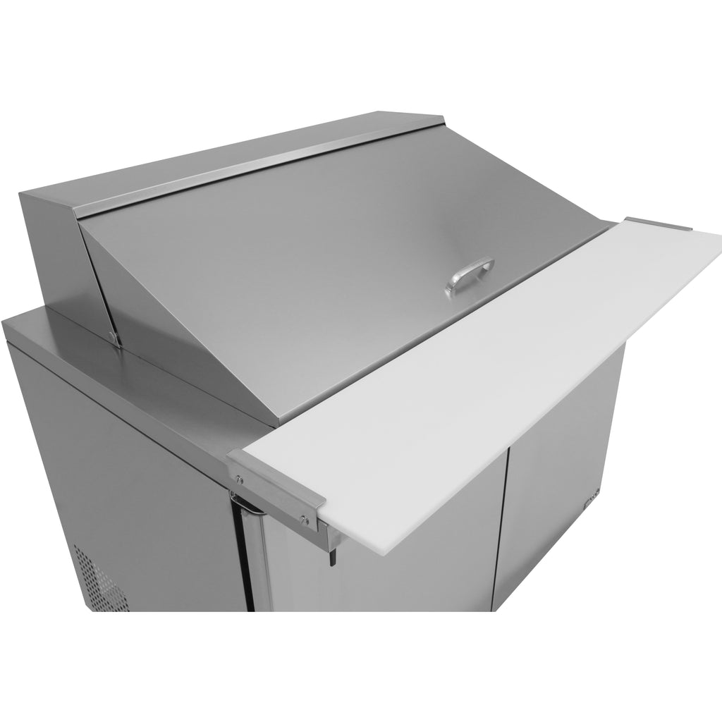 "Turbo Air MST-60-24-N Commercial Refrigerated Mega Top Sandwich / Salad Unit 60"" - AT Faucet"