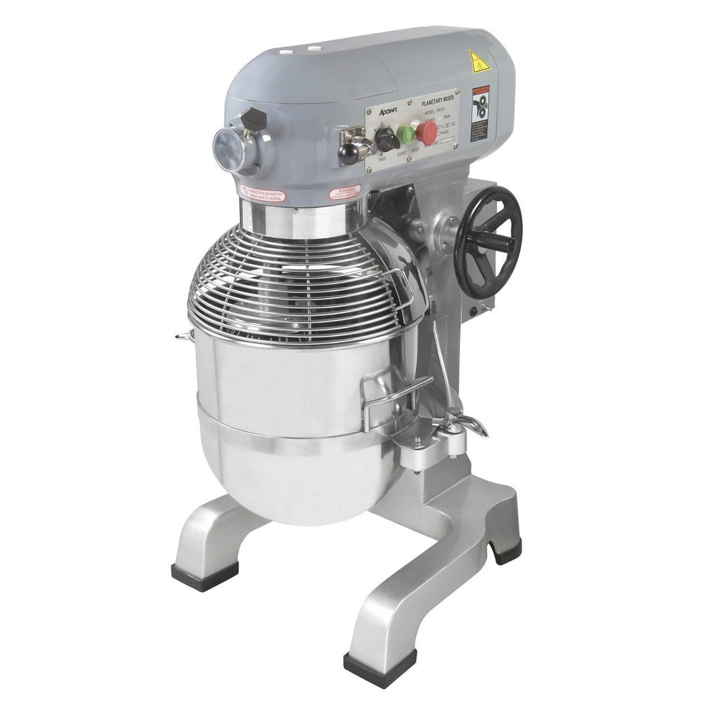 Commercial Kitchen 30 Qt. Planetary Food Mixer Heavy Duty - AT Faucet Bar & Restaurant Equipment New Jersey