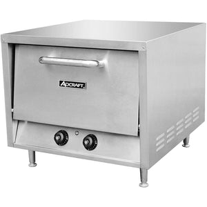 "Commercial Kitchen Countertop Electric Pizza Oven 26"" with 2 Shelves - AT Faucet"