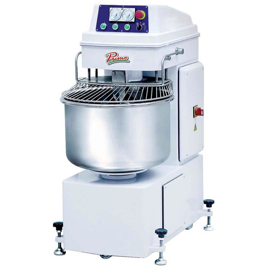 Primo PSM-50E Commercial Kitchen Spiral Dough Mixer 55 lb. Flour Capacity - AT Faucet