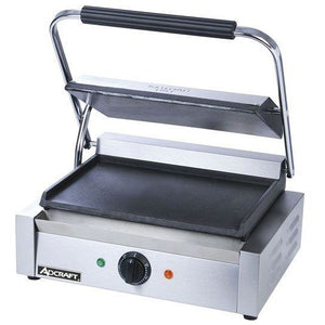 "Commercial Kitchen Countertop Large Flat Panini Sandwich Grill 17"" - AT Faucet"
