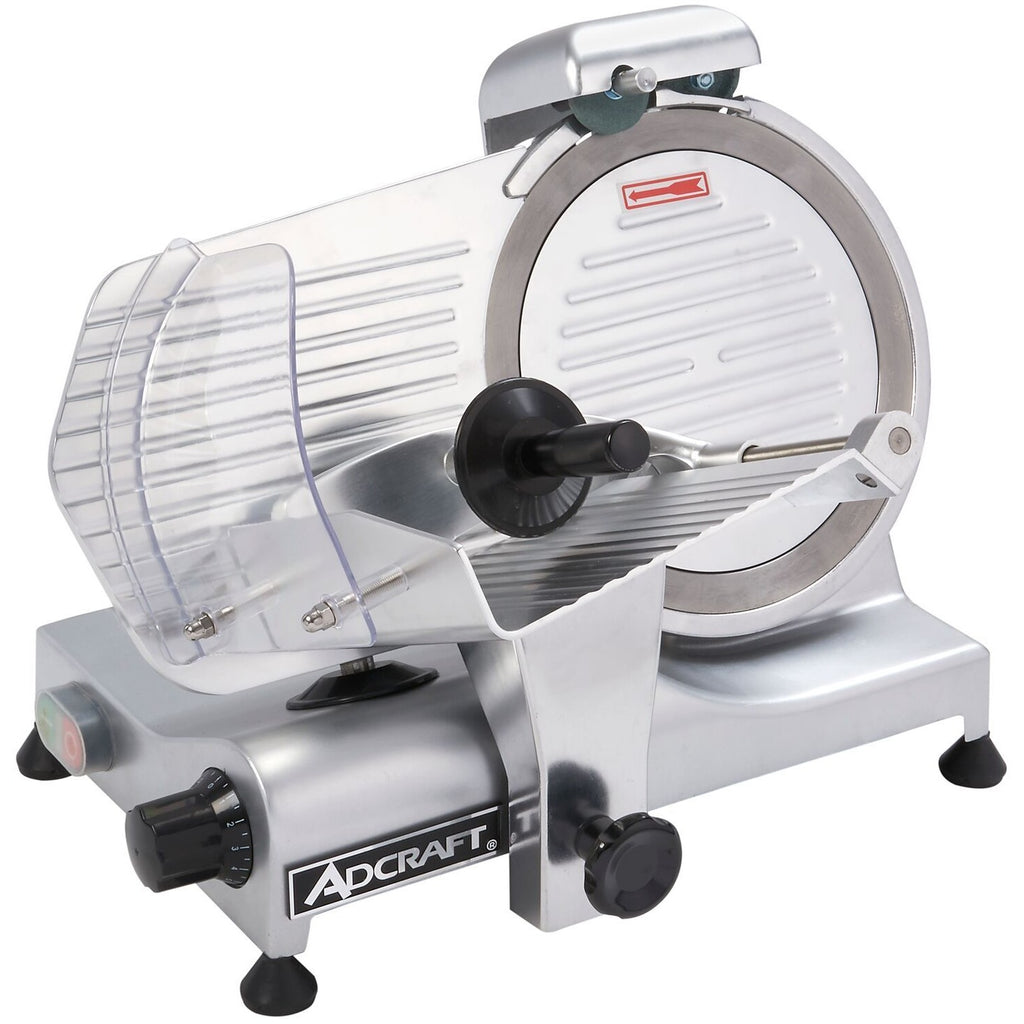 "Admiral Craft SL250ES-10 Commercial Light Duty Slicer 1/4 Horsepower 10"" Blade - AT Faucet"