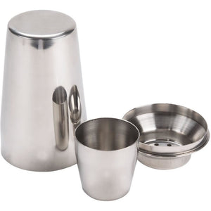 Commercial Bar 28 oz. Stainless Steel Cocktail Mixer 3 Piece Set Package of 2 - AT Faucet