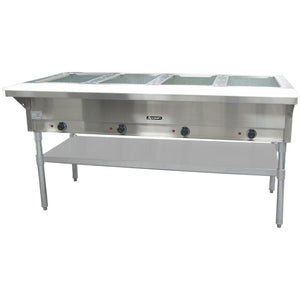 Steam Tables AT Faucet - Eagle group steam table