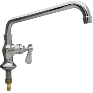 "Commercial Single Pantry Deck-Mount Faucet with 8"" Spout - AT Faucet"