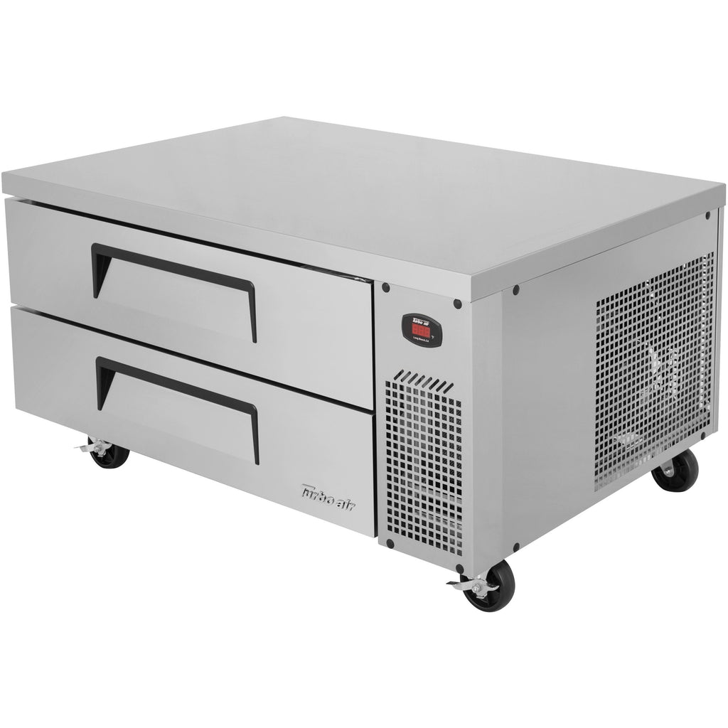 "Turbo Air TCBE-48SDR-N Commercial Kitchen Refrigerated Chef Base 48"" - AT Faucet"