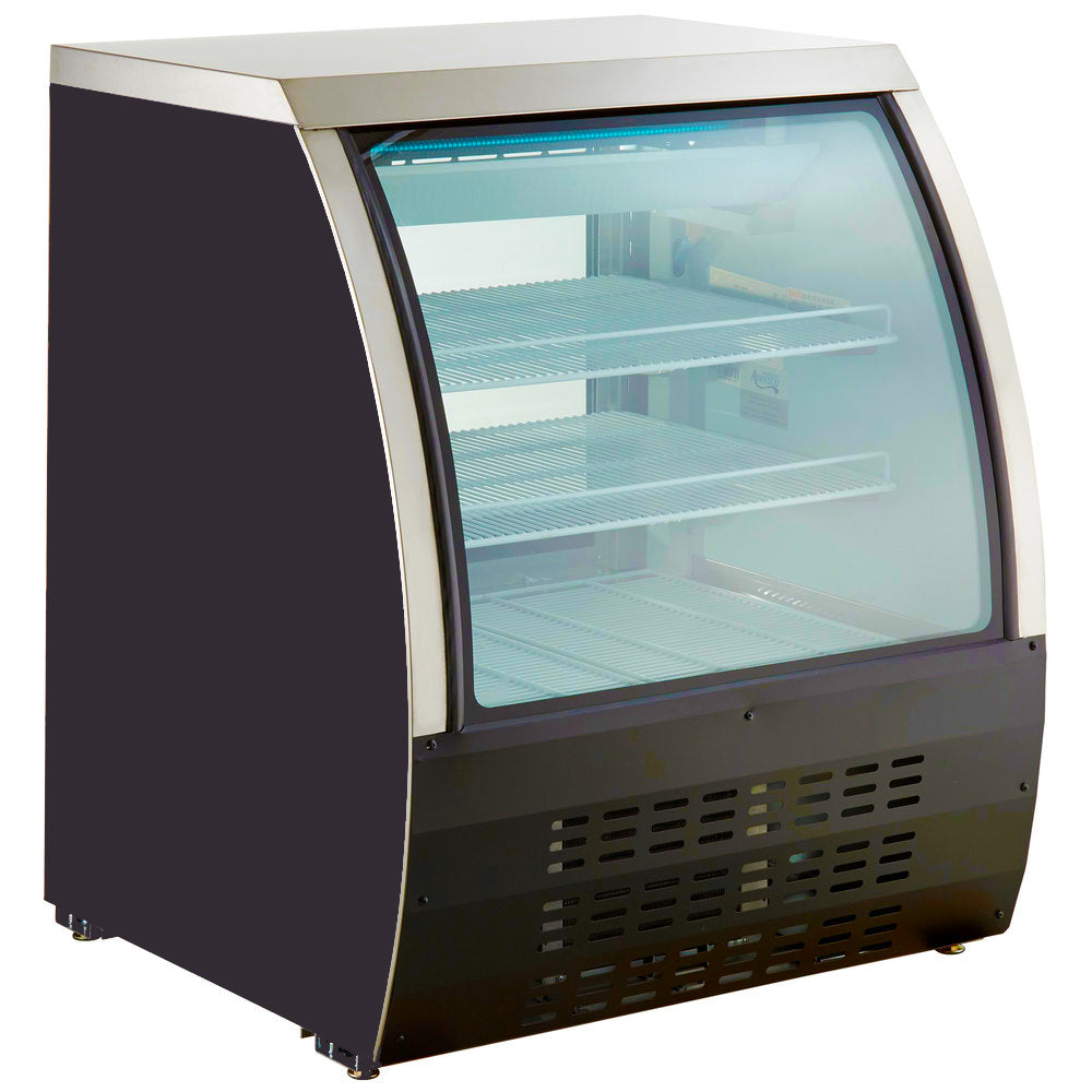 "Commercial Floor Model Refrigerated Deli Case 36"" - AT Faucet"