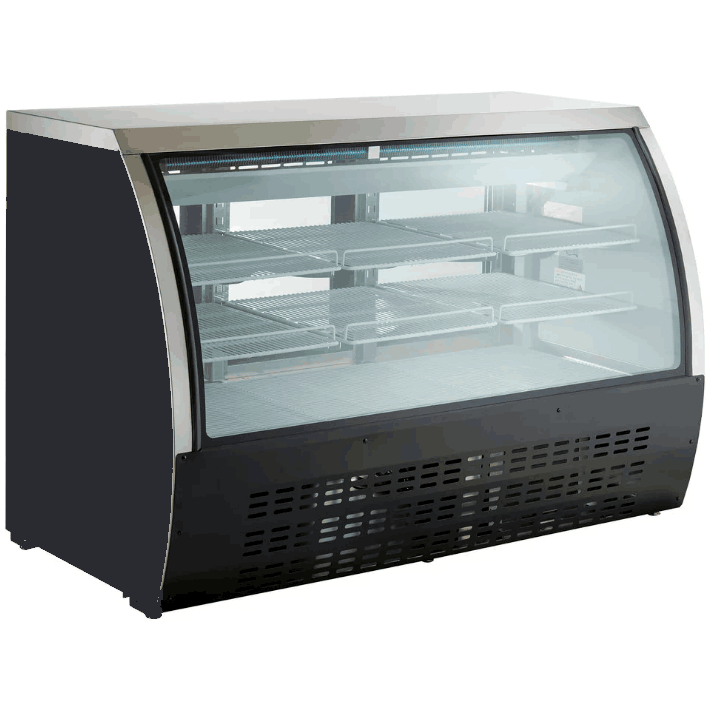"Commercial Floor Model Refrigerated Deli Case 64"" - AT Faucet"