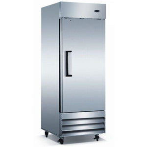 Commercial Kitchen Single Door Narrow Depth Reach-In Refrigerator 19 Cu. Ft. - AT Faucet