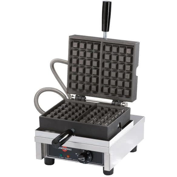 Commercial Countertop 90 Degree Opening Belgian Waffle Maker 120V - AT Faucet
