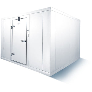 Commercial Kitchen Walk-In Box Cooler 6' x 8' No Floor Box Only - AT Faucet