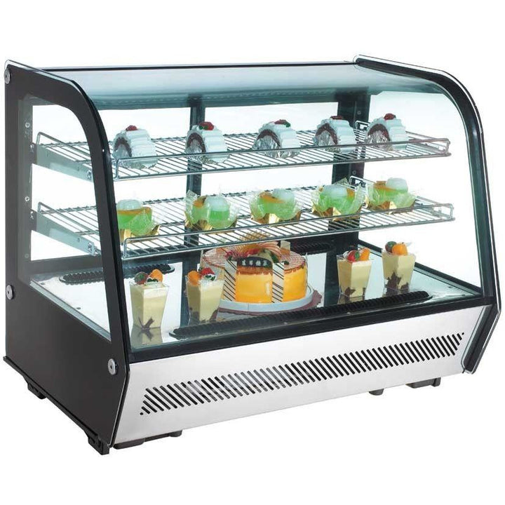 "Commercial Countertop Refrigerated Display Case 35"" - AT Faucet"
