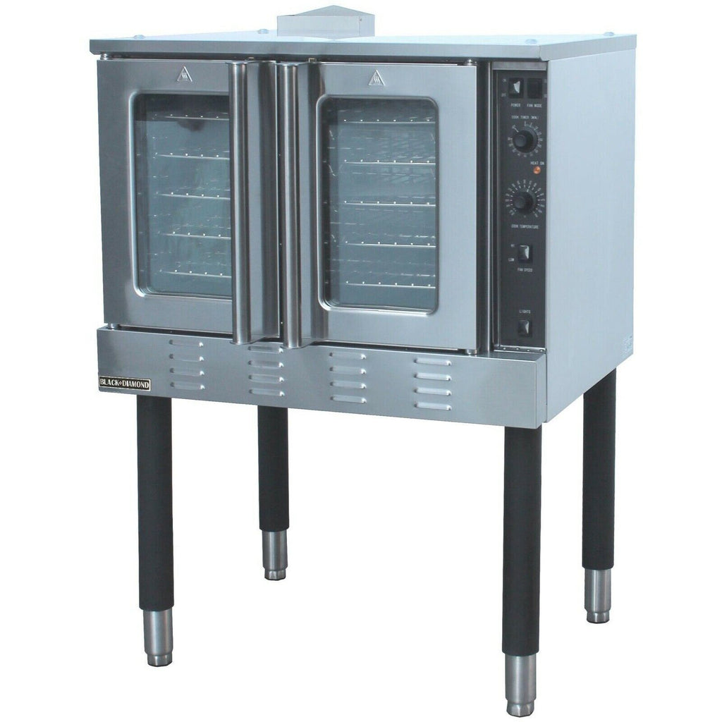 Commercial Kitchen Full Size Gas Convection Oven Single Deck - AT Faucet