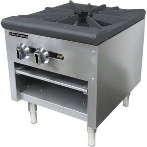 Commercial Kitchen Single Stock Pot Burner Natural Gas - AT Faucet