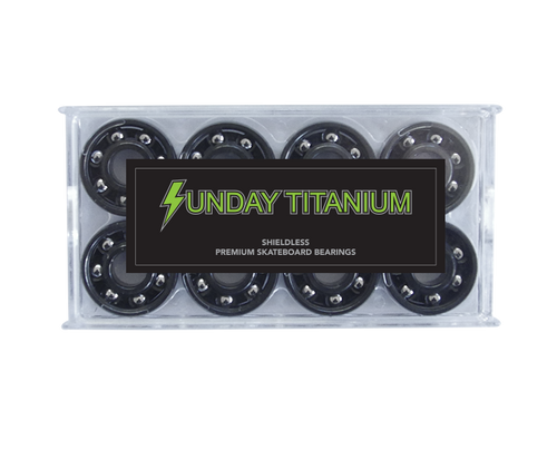 Sunday Titanium Bearings