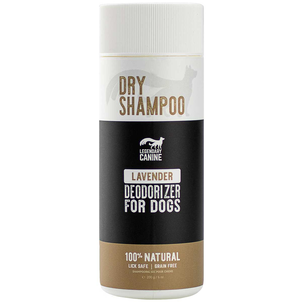 Legendary Canine All Natural Dry Dog Shampoo - 250ml