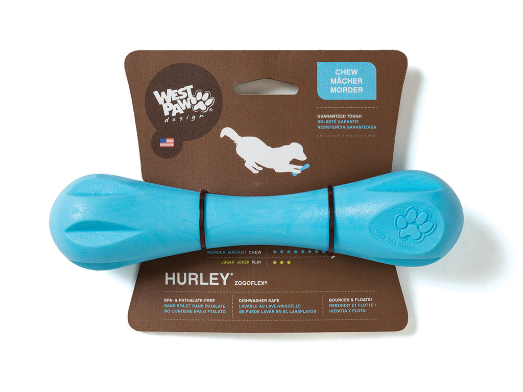 The Fluffy Carnivore dog bone for puppies and for dogs, West Paw Designs, Marley Jane The Saint, Dog Toys, Oakville, Ontario, Delivery, Shipping Worldwide, Cat Gifts, Canada, Pets, Big dogs, Small Dogs, Teething, Frisbee, Colorful Dog toys, durable