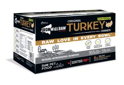 Iron Will Original Turkey - 6lb (6 - 1lb Pouches)