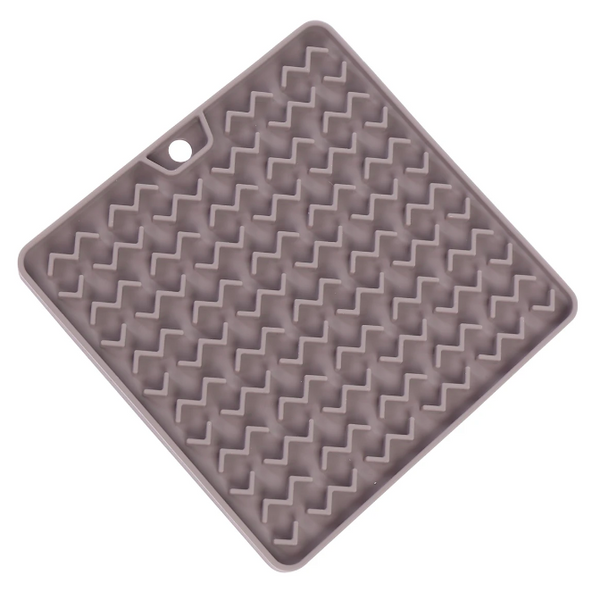 Messy Mutts Silicone Reversible Therapeutic Lick Mat, 2 Colors Available