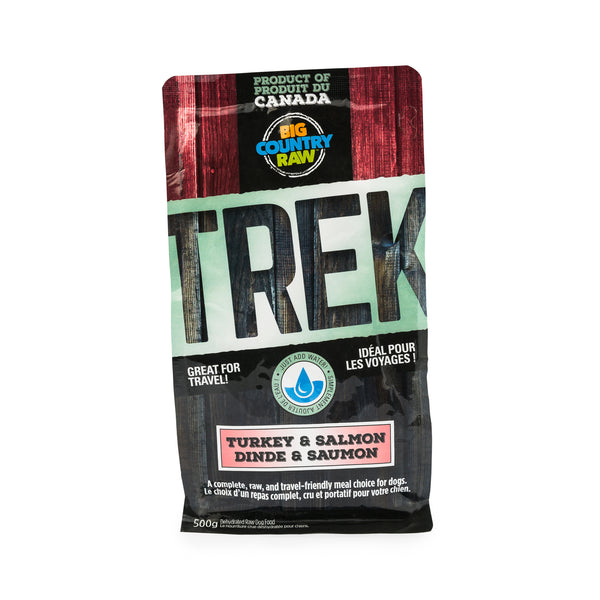 TREK – Turkey and Salmon Formula – 500g