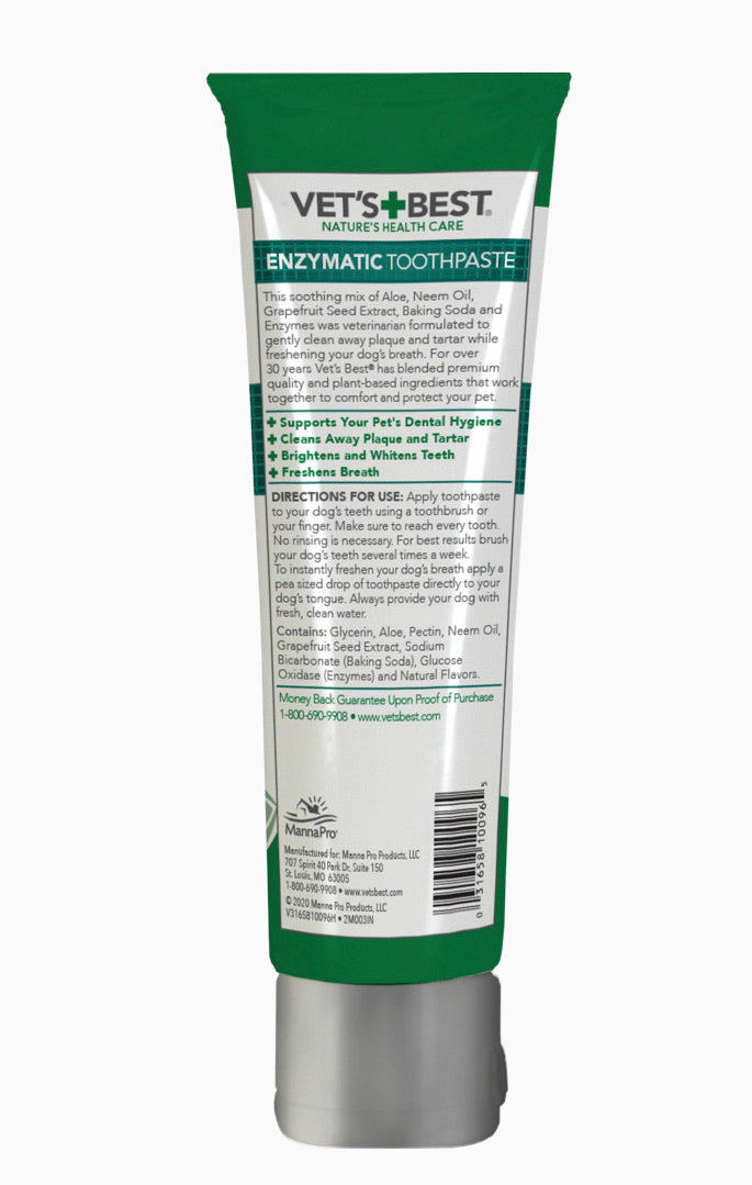 Vets Best Dog Toothpaste 3.5oz