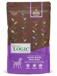 Nature's Logic Canine Rabbit Meal Feast 4.4lb