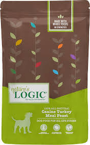 Nature's Logic Canine Turkey Meal Feast 4.4lb