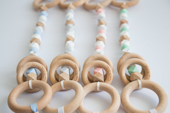 Shake, Rattle & Roll Pram Garland