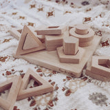 Puzzles + Play Wooden toy set