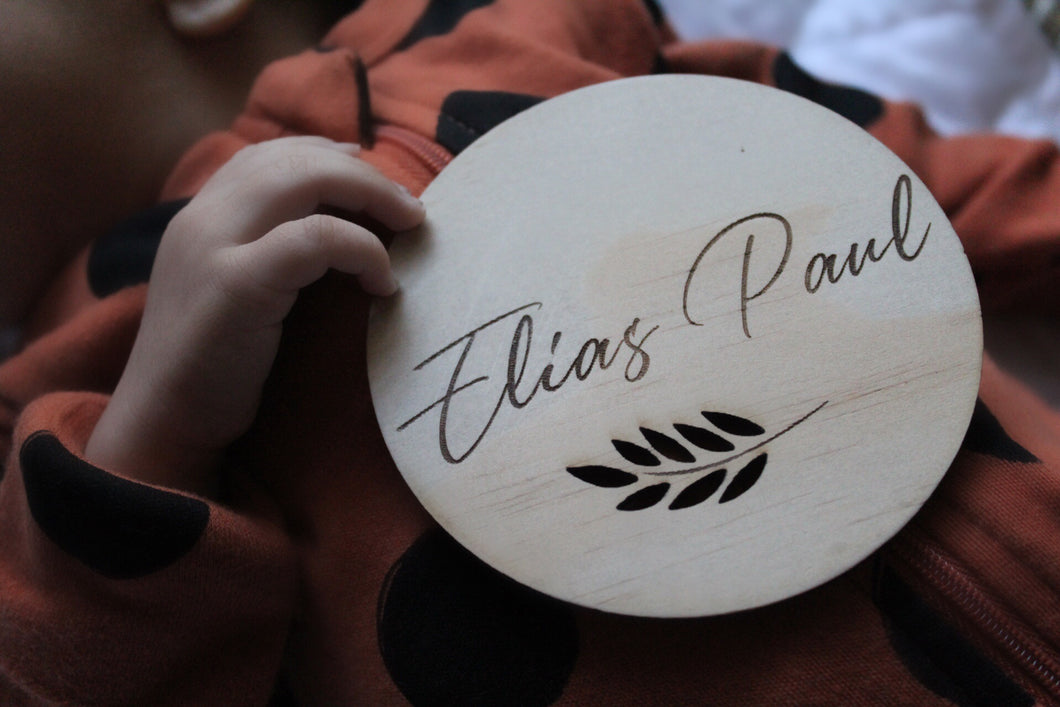 Personalised Raw Disc