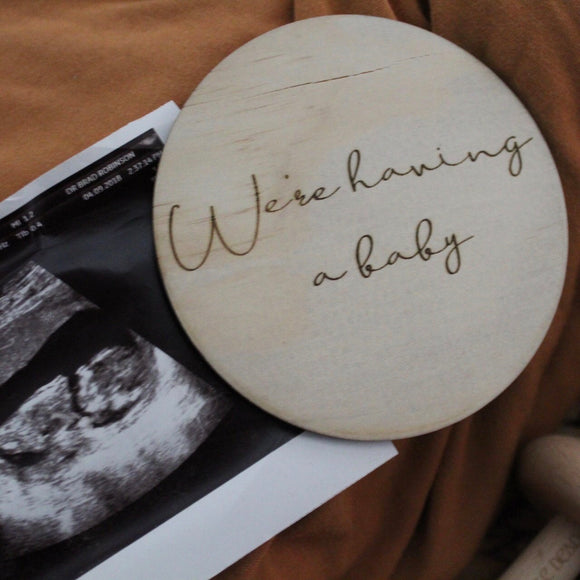 We're having a Baby Raw discs