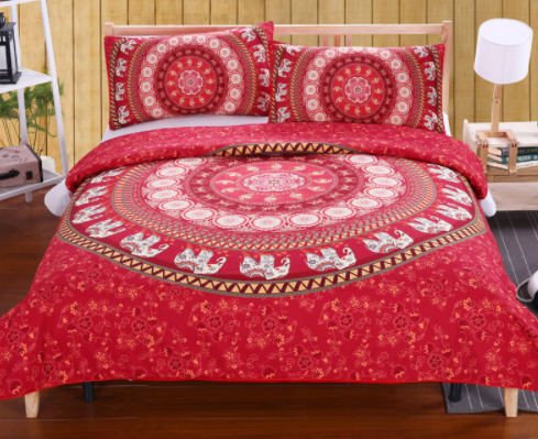 Bohemian Printed Duvet Cover Set