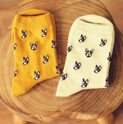Cute Boston Terrier Socks