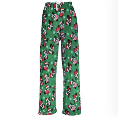 Comfy Cozy Christmas Boston Terrier Lounge Pants (Sizes Run Small - See the Size Chart)