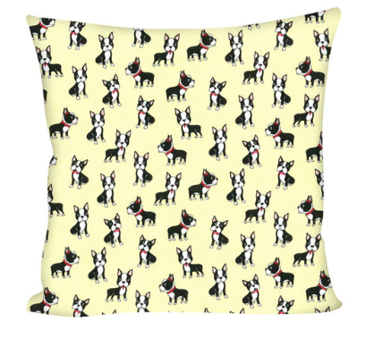 Cute Boston Terrier Pattern Pillowcases