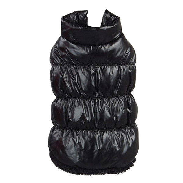 Hot Winter Dogs Pet Cat Padded Vest Coat Puppy Warm Down Fleece + Polyester Jackets Clothes XS-XXXL