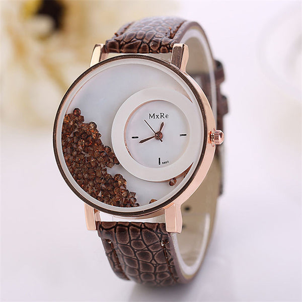 Stylish Quicksand Bead Watch