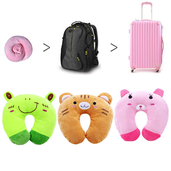 Cute Cartoon Animal Travel Pillows