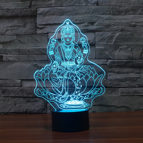 3D Buddha LED Night Light