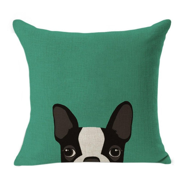 Cute Pet Pillow Cases: Peeping Pets