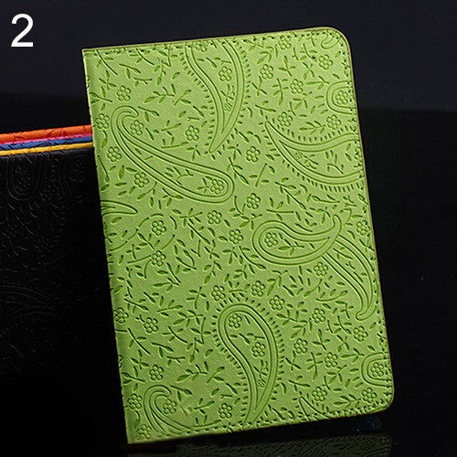 Engraved Pattern Passport Cover