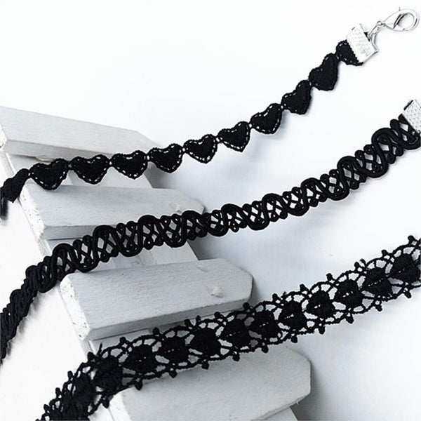 Lace Choker Necklaces