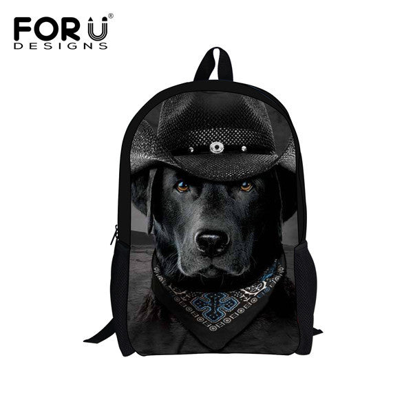 Cute Boston Terrier Backpack
