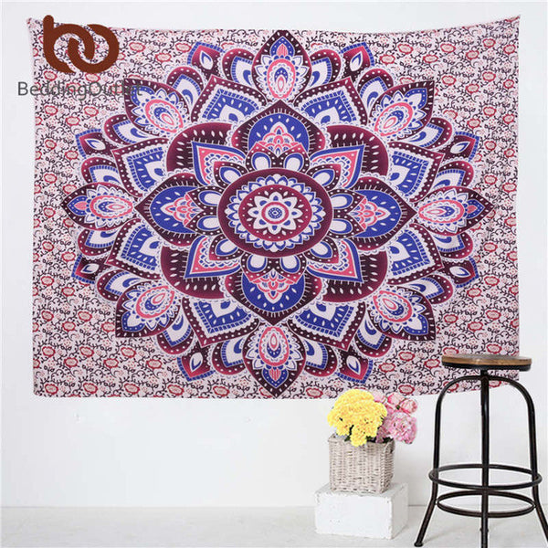 Decorative Elephant Mandala Tapestries