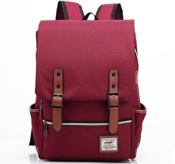 Trendy Canvas Backpack