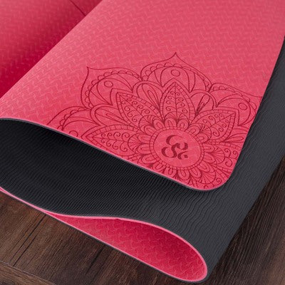 6mm Yoga Mat With Yoga Bag