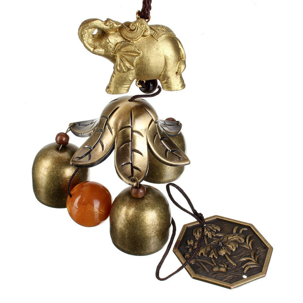 Good Luck Elephant Wind Chime